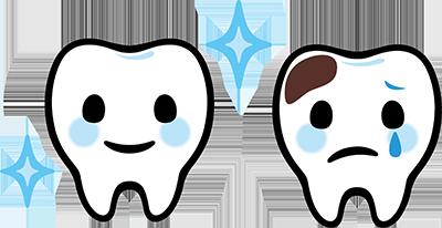 乳児の虫歯